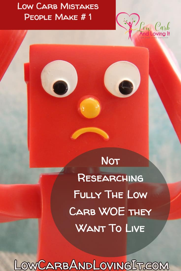 low carb diet mistakes #1