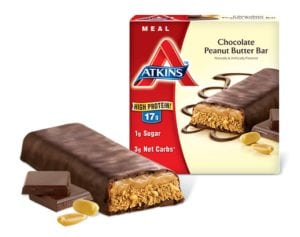 My favorite Atkins Diet Meal Replacement Bars